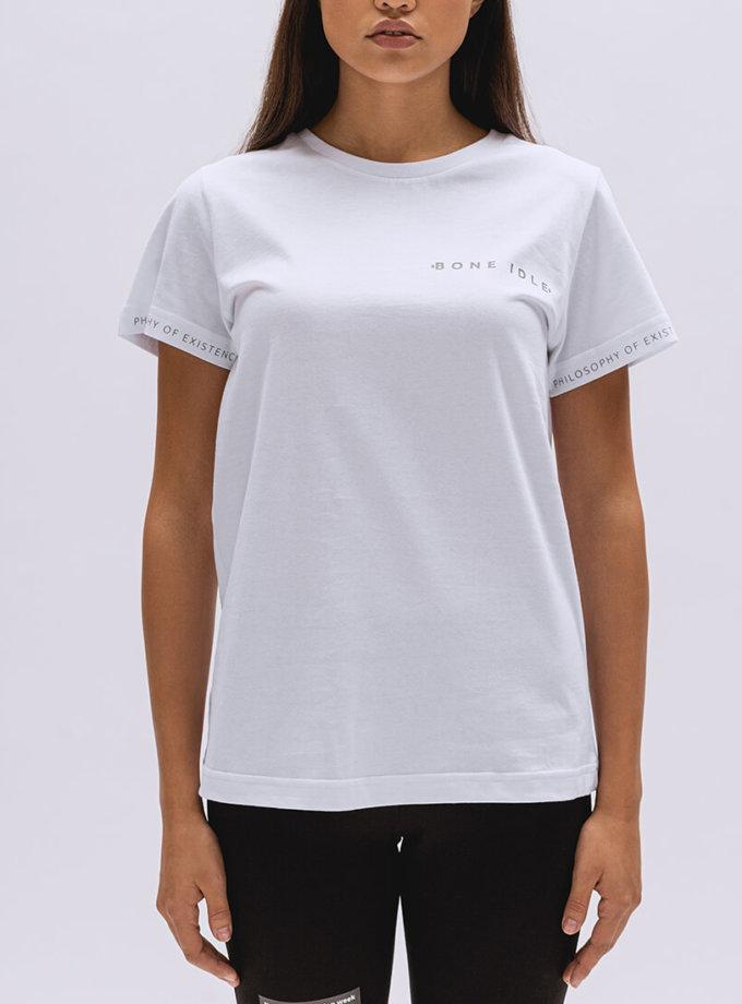 Хлопковая футболка Basic BI_BC003, фото 1 - в интернет магазине KAPSULA