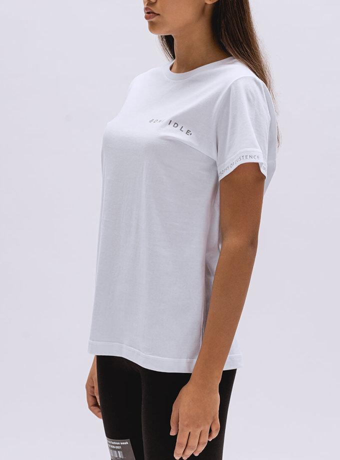 Хлопковая футболка Basic BI_BC003, фото 1 - в интеренет магазине KAPSULA