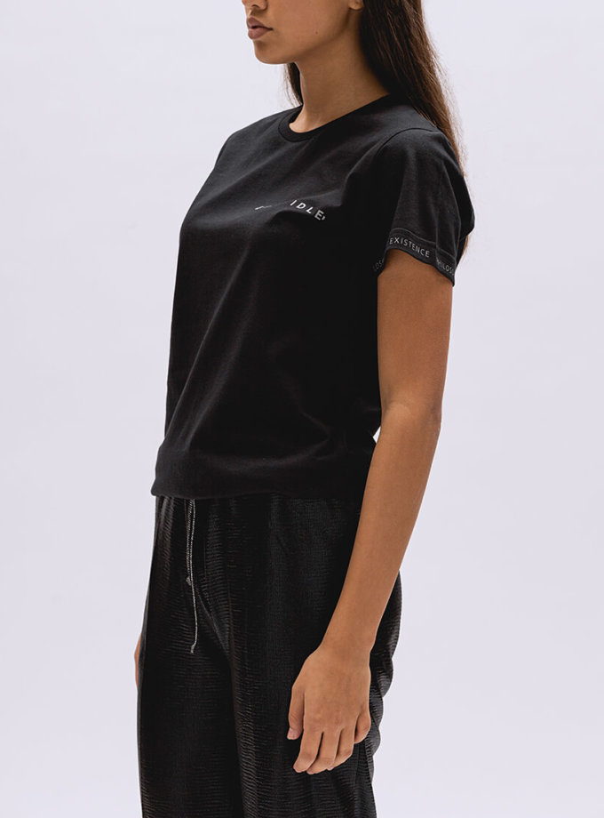Хлопковая футболка Basic BI_BC004, фото 1 - в интернет магазине KAPSULA