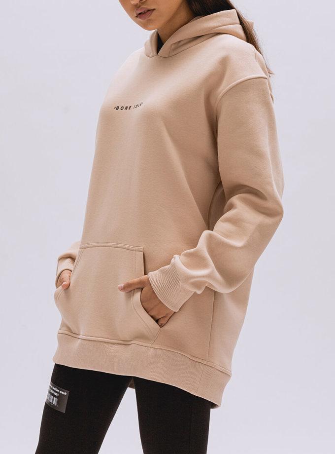 Худи oversize с капюшоном BI_FW001, фото 1 - в интернет магазине KAPSULA