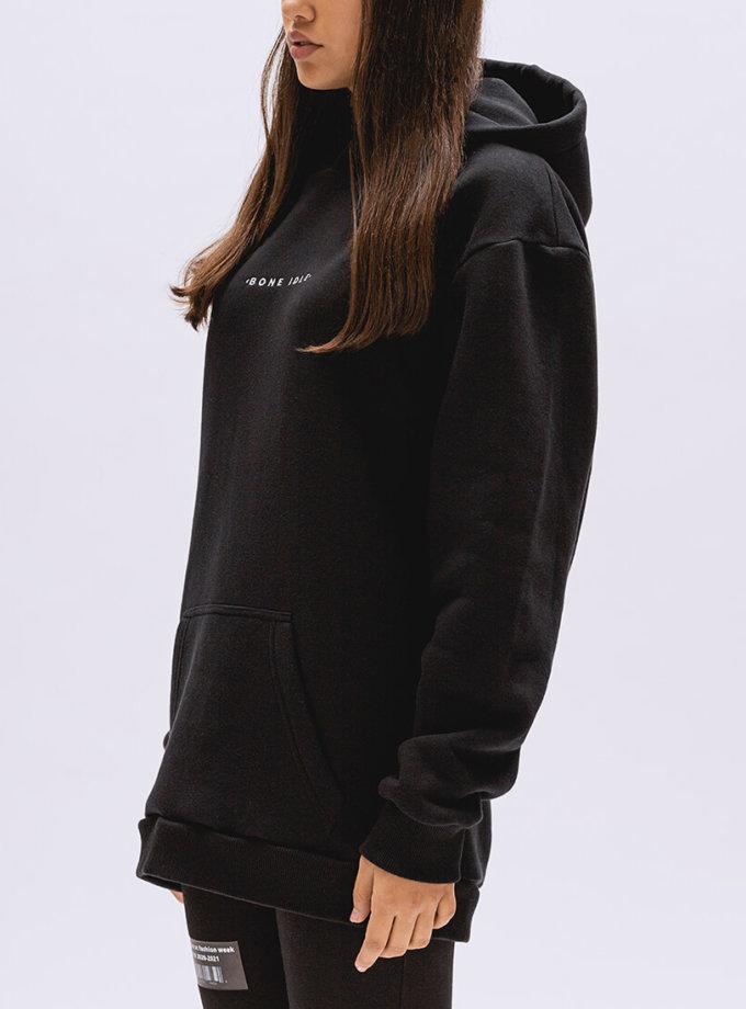 Худи oversize с капюшоном BI_FW002, фото 1 - в интеренет магазине KAPSULA