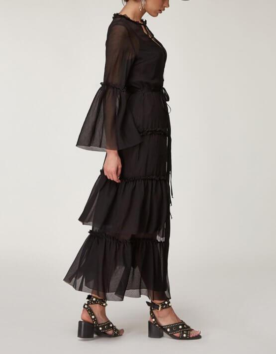 Платье бохо из хлопка CVR_BOHOB2020, фото 5 - в интеренет магазине KAPSULA