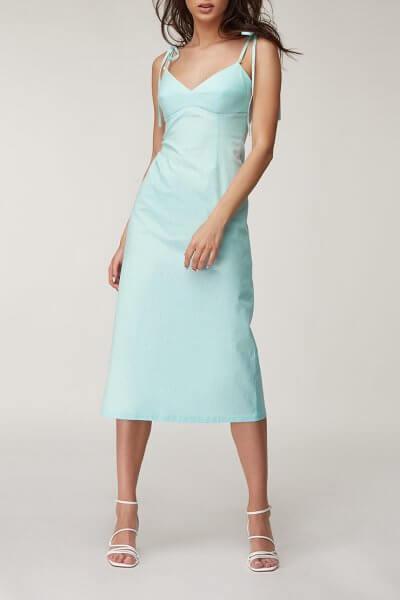 Льняное платье миди CVR_LINBIR2020, фото 1 - в интеренет магазине KAPSULA