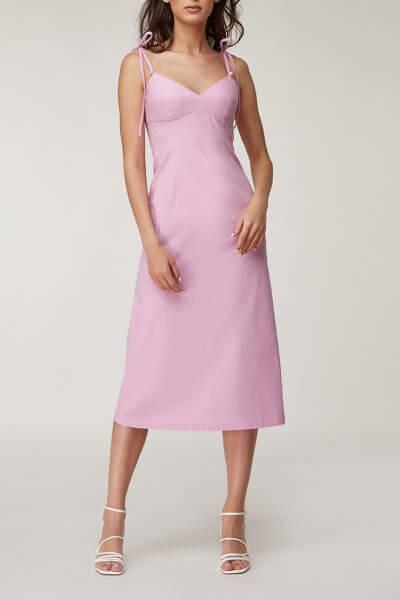 Льняное платье миди CVR_LINFIAL2020, фото 1 - в интеренет магазине KAPSULA
