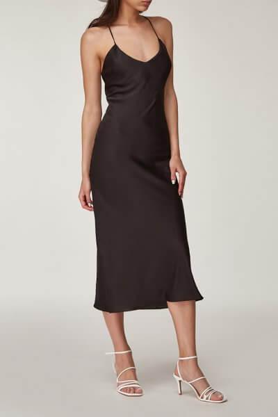 Платье миди с открытой спиной CVR_OPENBLACK2020, фото 1 - в интеренет магазине KAPSULA