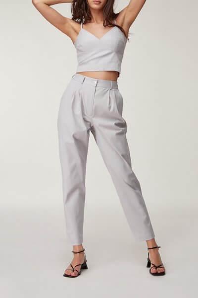 Хлопковые брюки с защипами CVR_PANTSER2020, фото 1 - в интеренет магазине KAPSULA
