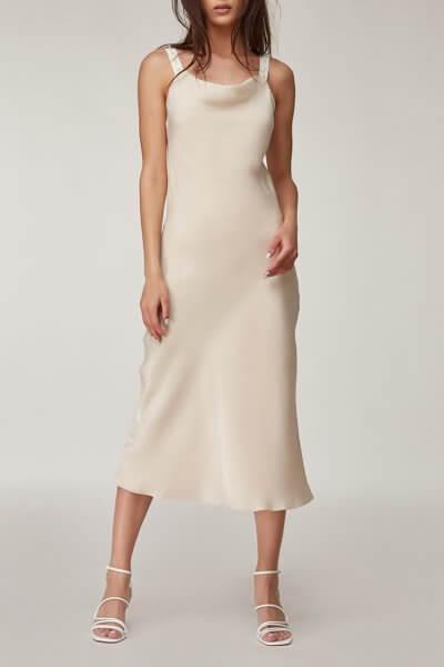 Платье миди с бусинами CVR_SLBEG2020, фото 1 - в интеренет магазине KAPSULA