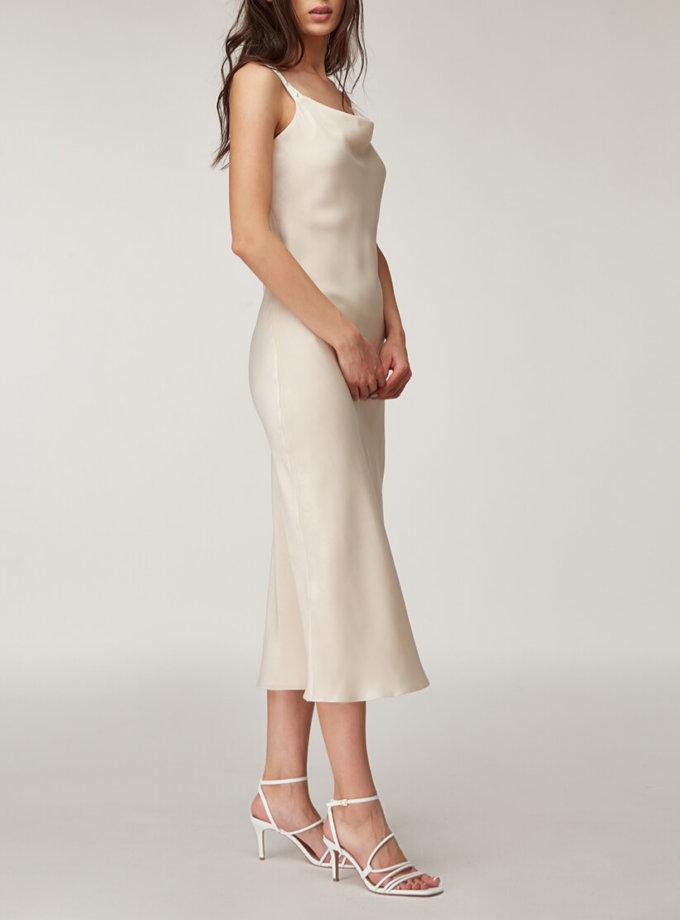 Платье миди с бусинами CVR_SLBEG2020, фото 1 - в интернет магазине KAPSULA