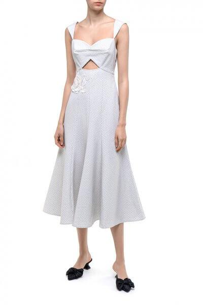 Хлопковое платье Applique DD_ART_20037, фото 1 - в интеренет магазине KAPSULA