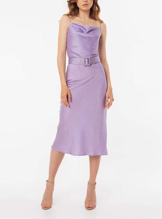 Платье миди на тонких бретелях MGN_1719L, фото 1 - в интернет магазине KAPSULA