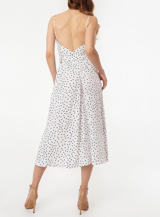 Платье с разрезом и открытой спиной MGN_1716B, фото 1 - в интернет магазине KAPSULA