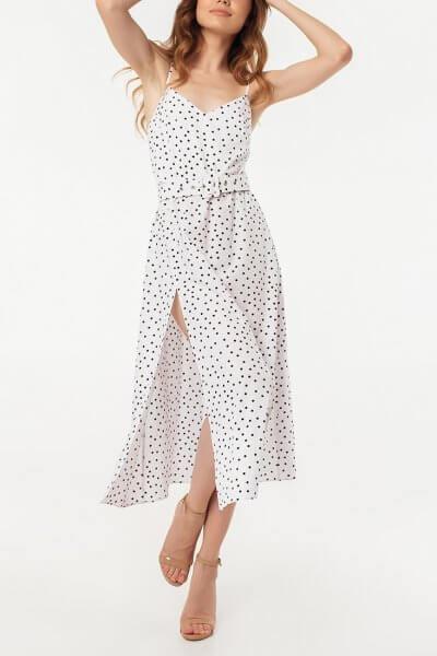 Платье с разрезом и открытой спиной MGN_1716B, фото 1 - в интеренет магазине KAPSULA