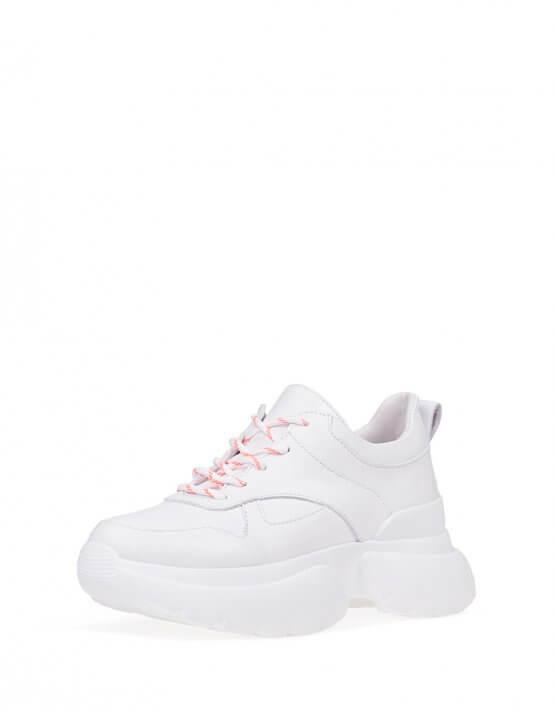 Кожаные кроссовки ED_BRK-02, фото 5 - в интеренет магазине KAPSULA