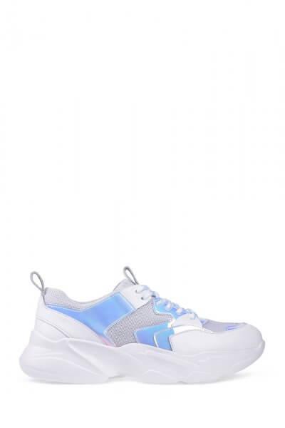 Кожаные кроссовки ED_CMT-02, фото 6 - в интеренет магазине KAPSULA