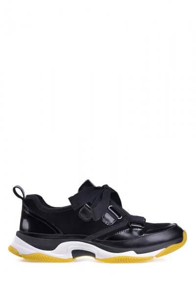 Кожаные кроссовки ED_KRLM-01, фото 4 - в интеренет магазине KAPSULA