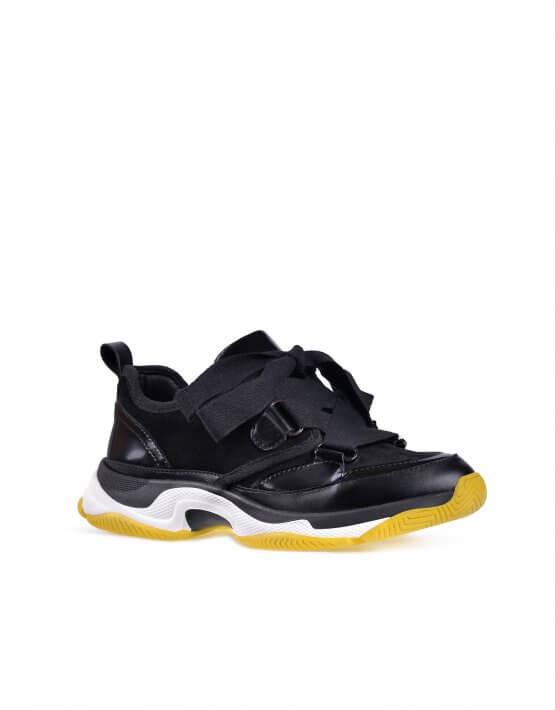 Кожаные кроссовки ED_KRLM-01, фото 5 - в интеренет магазине KAPSULA