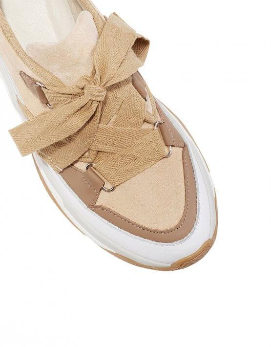 Кожаные кроссовки ED_KRLM-13, фото 5 - в интеренет магазине KAPSULA