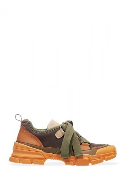 Кроссовки из натуральной кожи ED_KRLM-16, фото 1 - в интеренет магазине KAPSULA