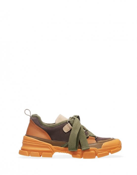 Кроссовки из натуральной кожи ED_KRLM-16, фото 5 - в интеренет магазине KAPSULA