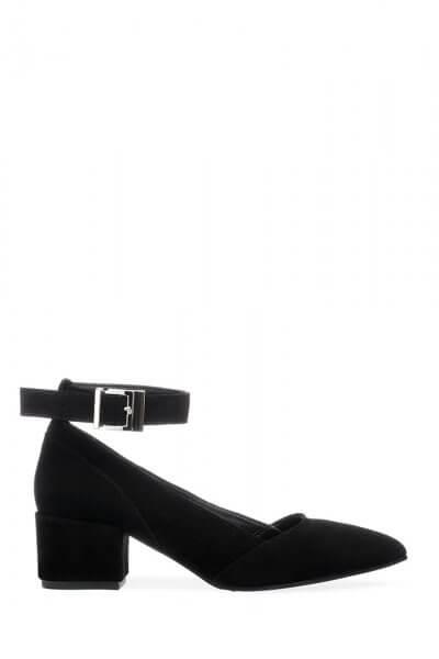 Кожаные туфли со съемным браслетом ED_LBT-01, фото 1 - в интеренет магазине KAPSULA