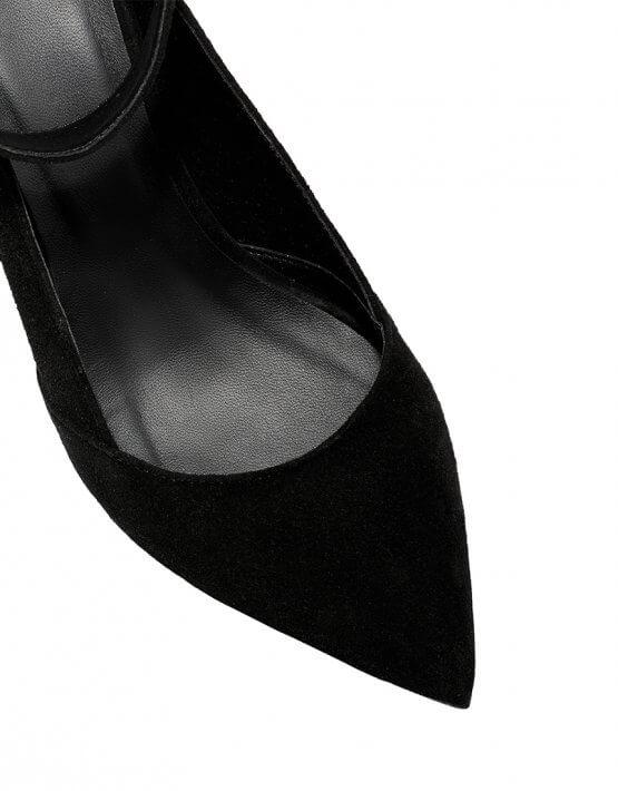 Кожаные туфли со съемным браслетом ED_LBT-01, фото 5 - в интеренет магазине KAPSULA
