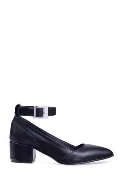 Кожаные туфли со съемным браслетом ED_LBT-01-(K), фото 1 - в интеренет магазине KAPSULA