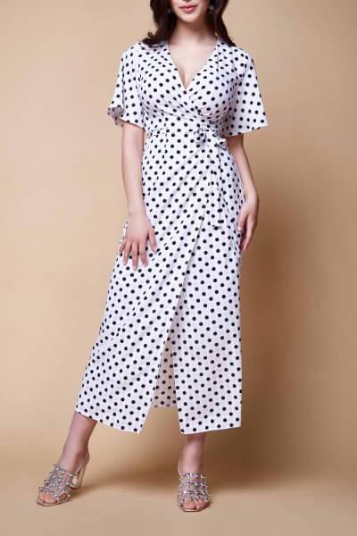 Платье на запах AYLA MC_MY1019-1, фото 1 - в интеренет магазине KAPSULA