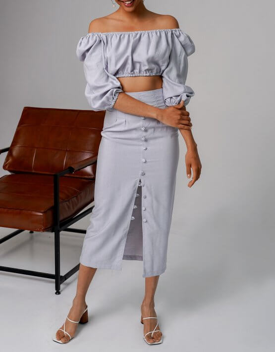 Льняной костюм Malena MC_MY3920, фото 8 - в интеренет магазине KAPSULA