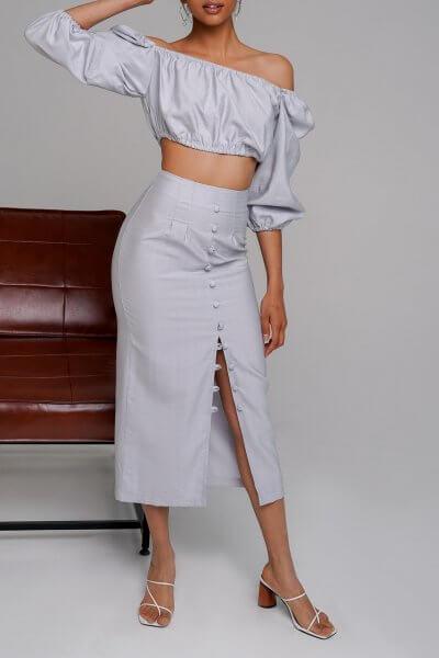 Льняной костюм Malena MC_MY3920, фото 1 - в интеренет магазине KAPSULA