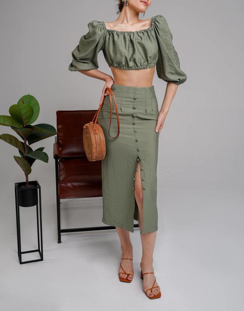 Льняной костюм Malena MC_MY4020, фото 1 - в интернет магазине KAPSULA