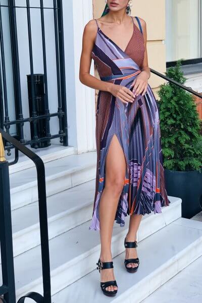 Шифоновое платье Valeriya MC_MY5619, фото 1 - в интеренет магазине KAPSULA