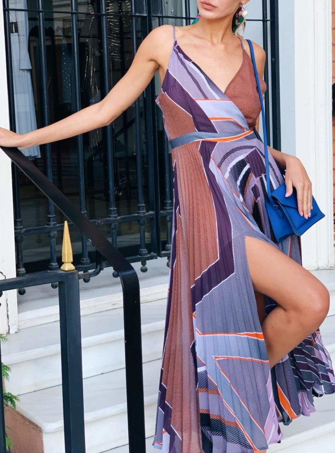 Шифоновое платье Valeriya MC_MY5619, фото 1 - в интернет магазине KAPSULA