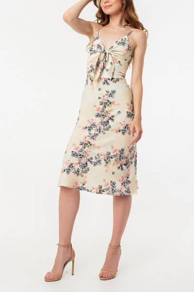 Платье миди с завязкой MGN_1720ZH, фото 5 - в интеренет магазине KAPSULA