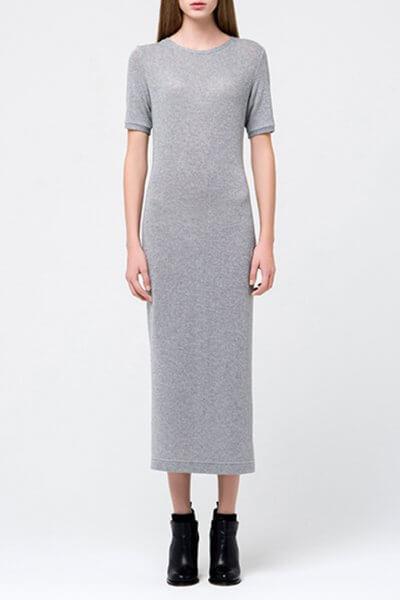 Трикотажное платье с люрексом MIN_fw1718-08_outlet, фото 1 - в интеренет магазине KAPSULA