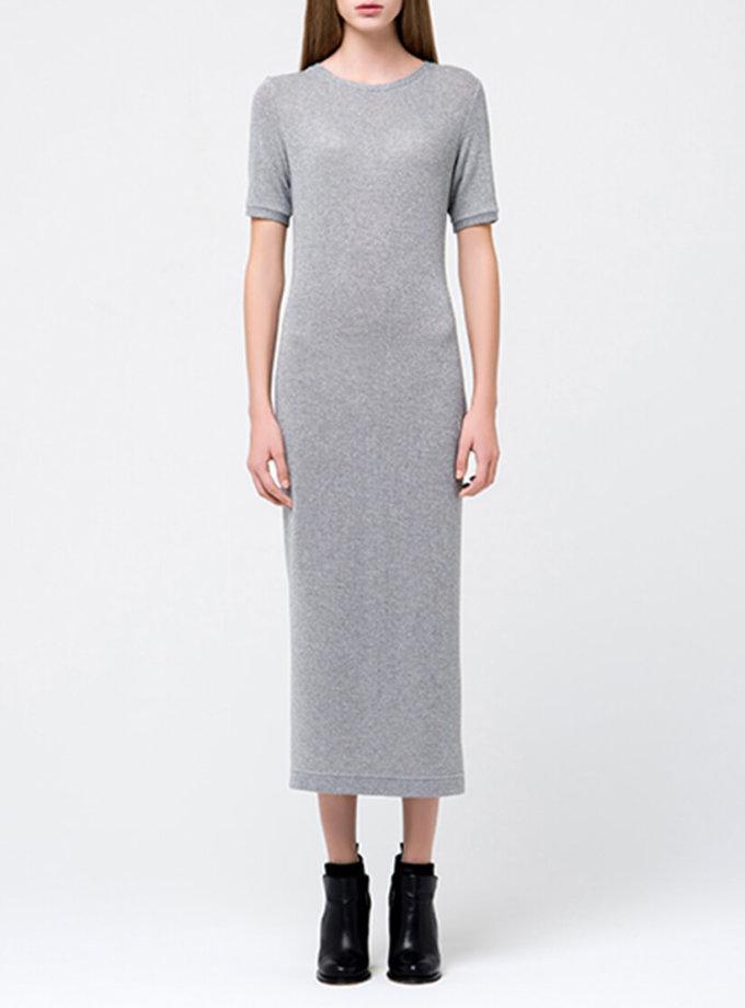 Трикотажное платье с люрексом MIN_fw1718-08_outlet, фото 1 - в интернет магазине KAPSULA