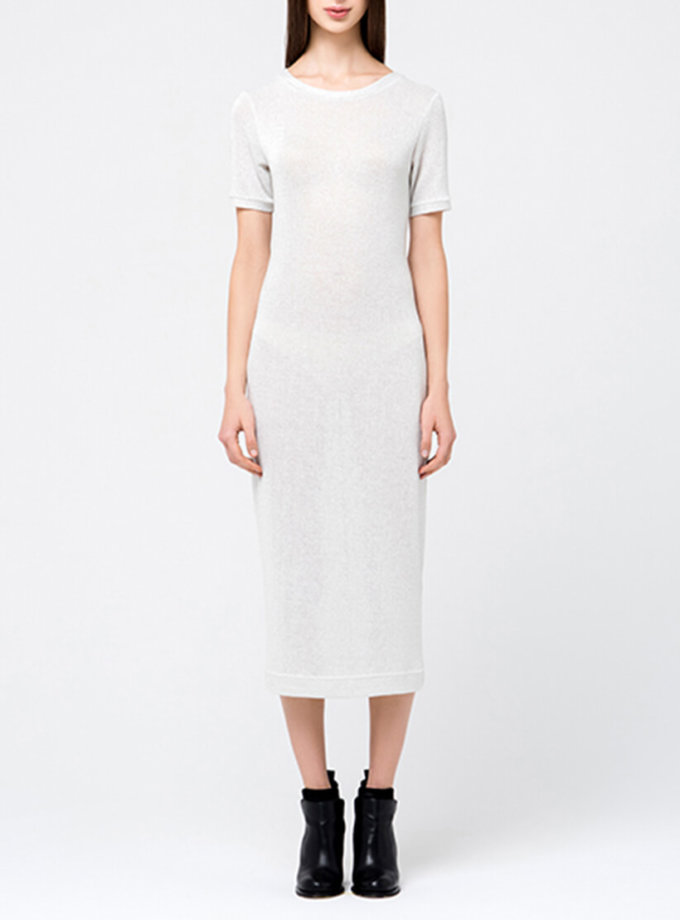 Трикотажное платье с люрексом MIN_fw1718-09_outlet, фото 1 - в интеренет магазине KAPSULA