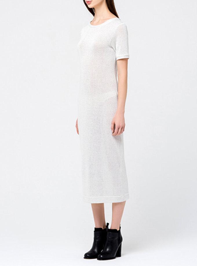 Трикотажное платье с люрексом MIN_fw1718-09_outlet, фото 1 - в интернет магазине KAPSULA