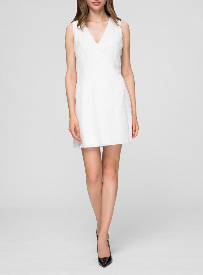 Легкое платье на запах MIN_ss1905_outlet, фото 1 - в интернет магазине KAPSULA