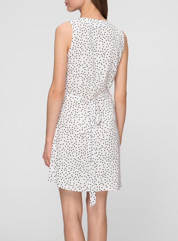 Легкое платье на запах MIN_ss1906_outlet, фото 1 - в интернет магазине KAPSULA
