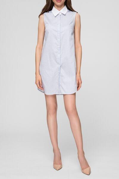 Платье-рубашка мини MIN_ss1907_outlet, фото 1 - в интеренет магазине KAPSULA