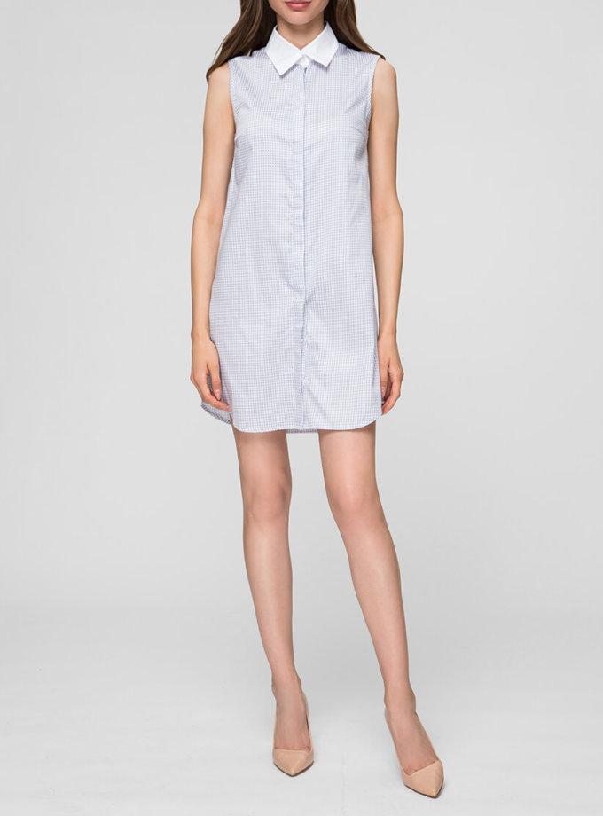 Платье-рубашка мини MIN_ss1907_outlet, фото 1 - в интернет магазине KAPSULA