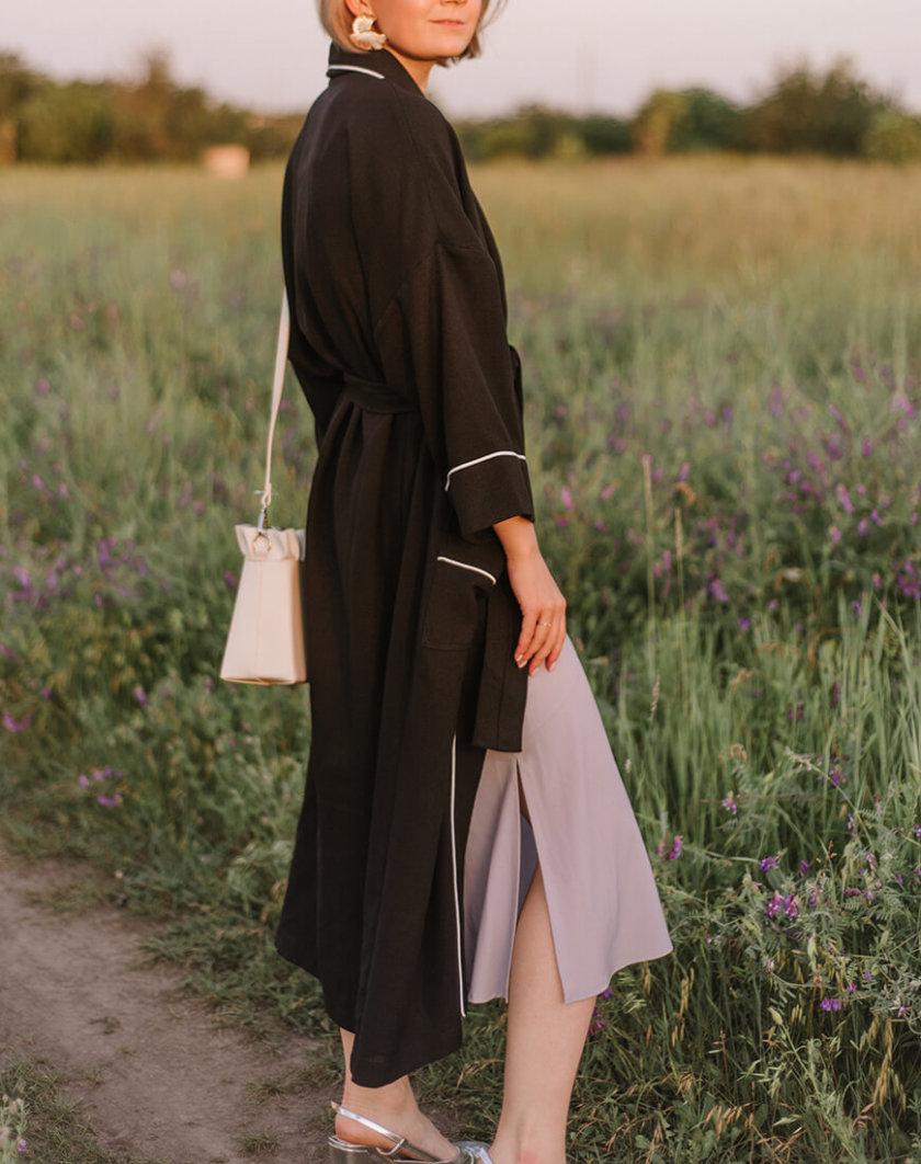 Кимоно с поясом MNTK_MTS20K1, фото 1 - в интернет магазине KAPSULA