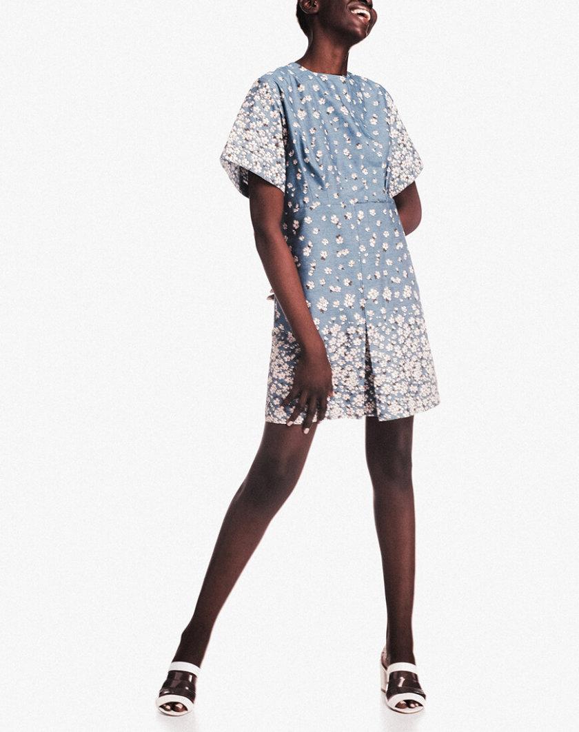 Хлопковое платье мини NM_243, фото 1 - в интернет магазине KAPSULA