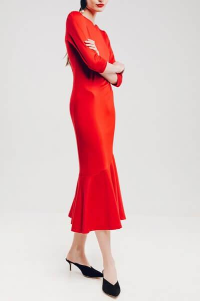 Платье с юбкой-годе NM_272, фото 3 - в интеренет магазине KAPSULA