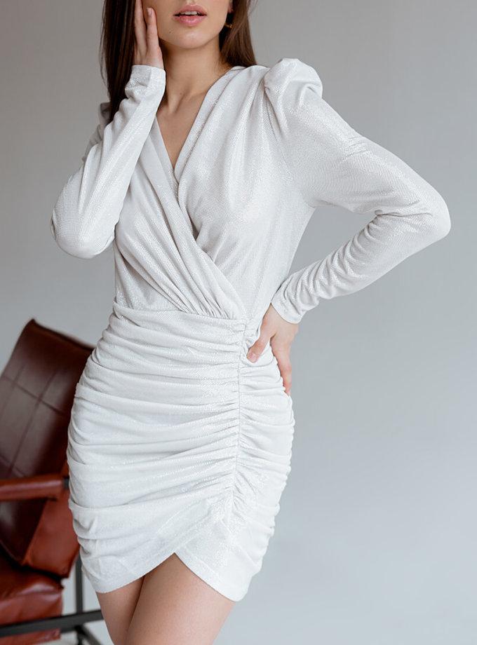 Платье мини с блеском NVL_SS2020_6, фото 1 - в интернет магазине KAPSULA