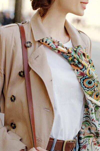 Шелковая шаль Королевская прихоть 30х150 см OLZ_AK6, фото 1 - в интеренет магазине KAPSULA
