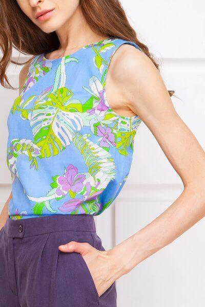 Легкая блуза из хлопка SHKO_13076063_outlet, фото 2 - в интеренет магазине KAPSULA