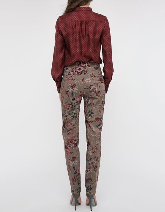 Зауженные брюки средней посадки SHKO_17025009_outlet, фото 3 - в интеренет магазине KAPSULA