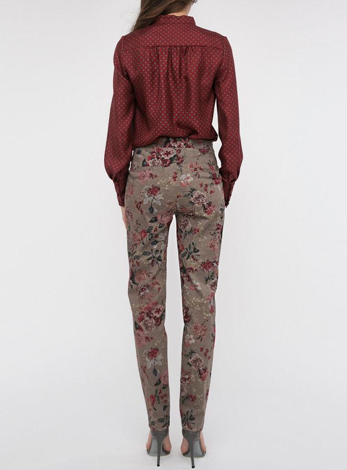 Зауженные брюки средней посадки SHKO_17025009_outlet, фото 1 - в интеренет магазине KAPSULA