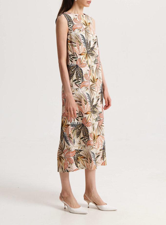 Платье в тропический принт SHKO_19013004, фото 1 - в интернет магазине KAPSULA